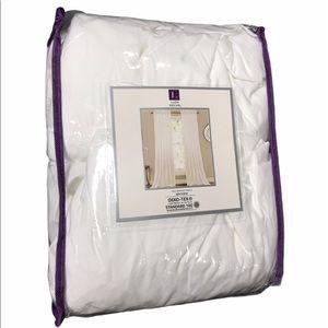 "Lush Decor | NWT White Bayview 2-Pack 84"" Curtains"